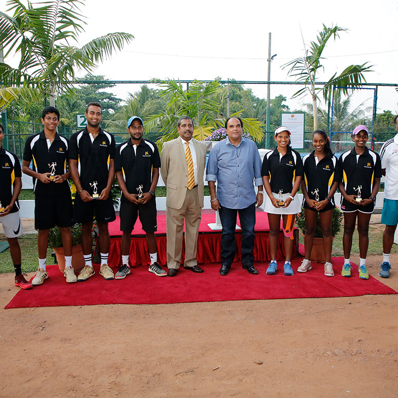 Professional-Level Outdoor Tennis Courts were Opened at Pegasus Reef Hotel