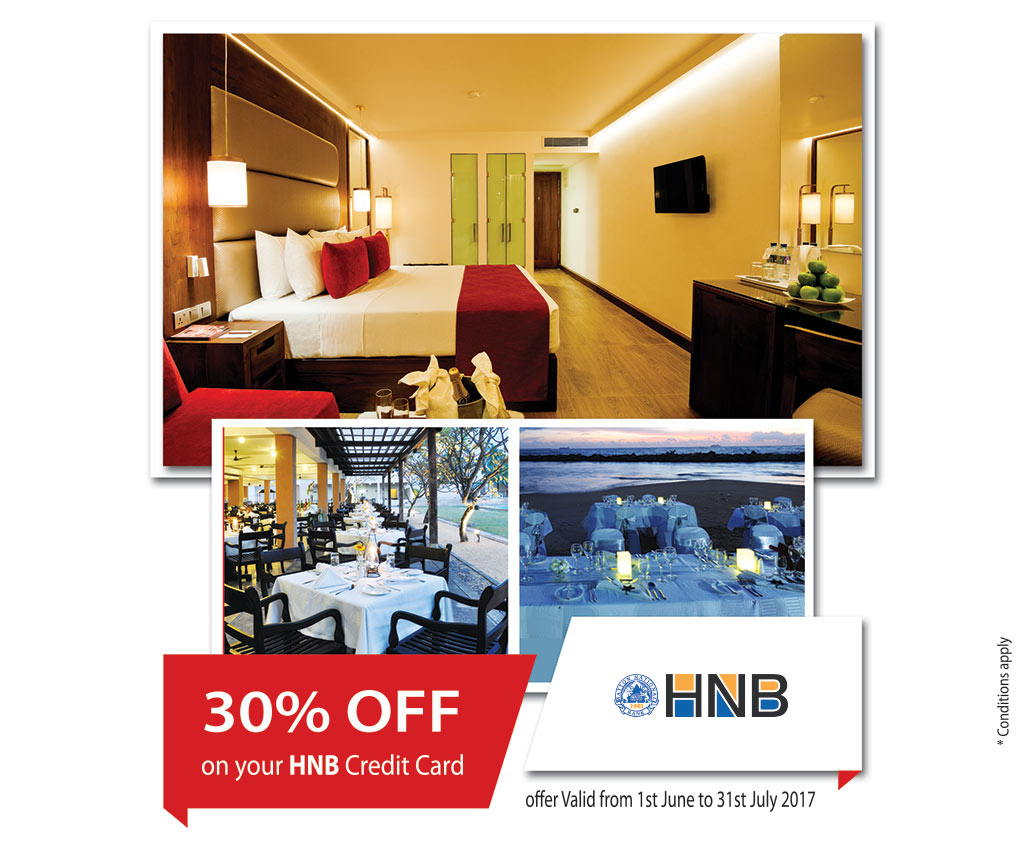 30% Off For HNB Credit Cards